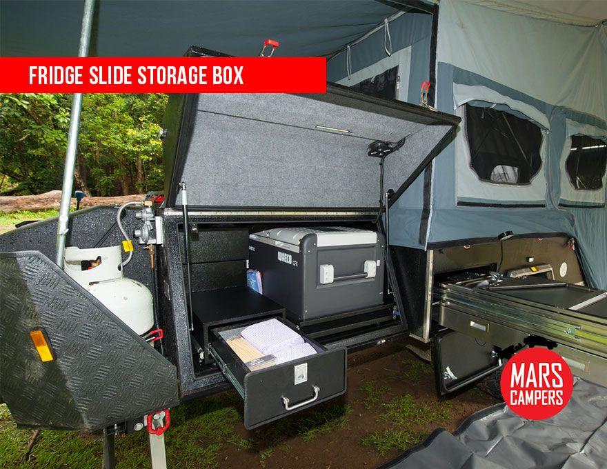 Camper Trailer Fridge Storage Box Camper Trailer For Sale Camper Camper Trailers