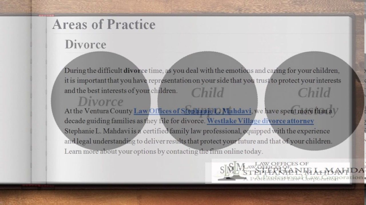 Having the right divorce attorney on your side can often