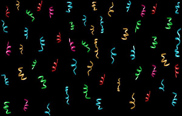 Colorful Confetti Png Transparent Clip Art Image Free Clip Art Clip Art Art Images