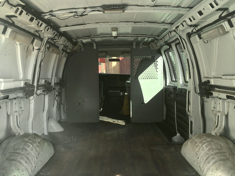 Rusty Cargo Van Converted Into A Mobile Studio Cargo Van Cargo
