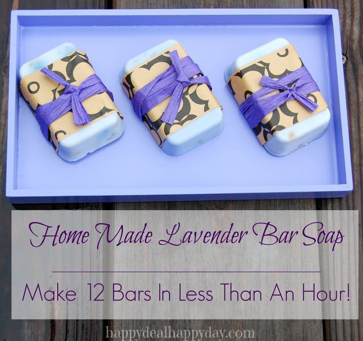EASY Lavender Home Made Soap Making | Great Gift Idea!  WOW this is way easier than I imagined it would be!!