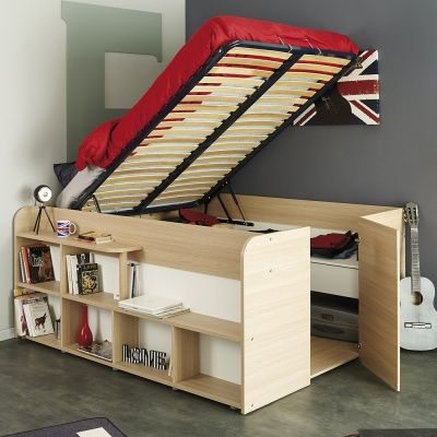 mondo - storage sleeper | childrens beds | bedroom | casa