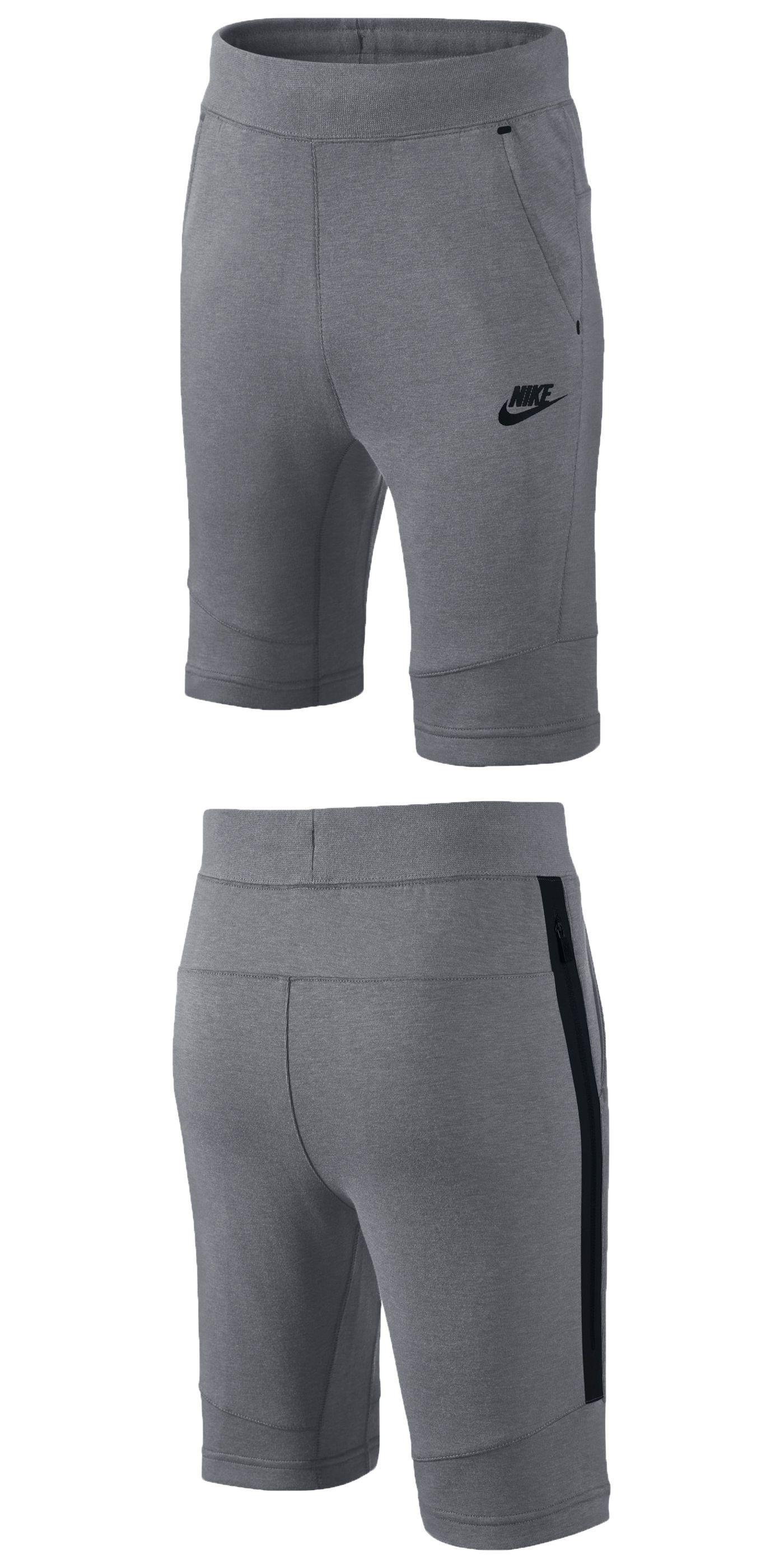 5aa219c92caf Shorts 15615  Nike Sportswear Tech Fleece Big Kids (Boys ) Shorts  55 -   BUY IT NOW ONLY   35 on eBay!