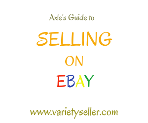 Axle's Guide to Selling on Ebay