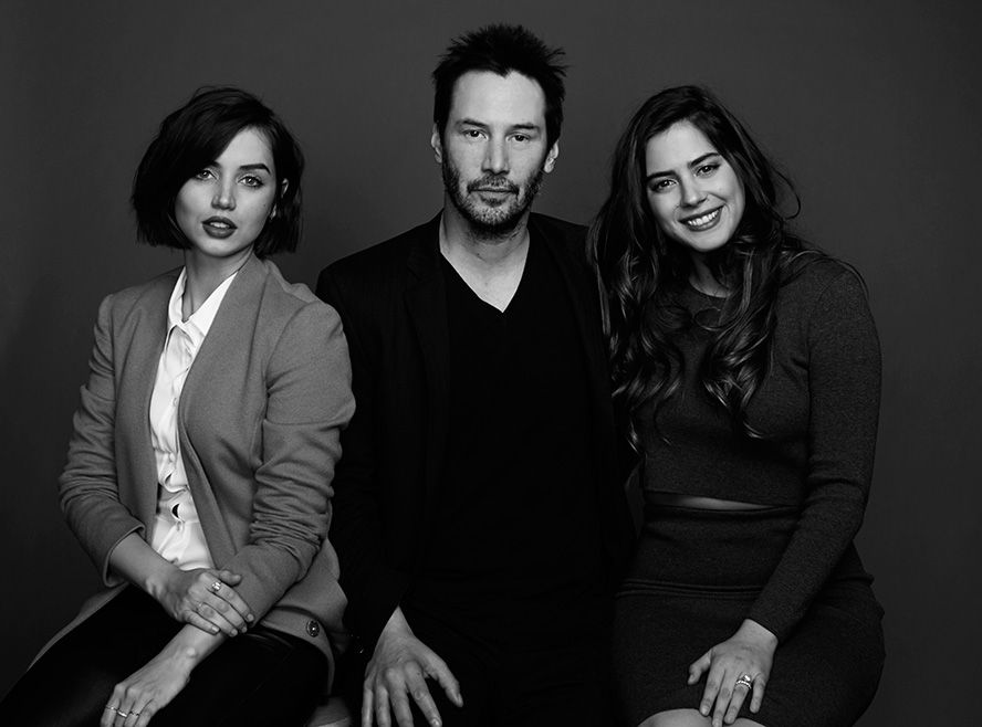 Exclusive Portraits Of Stars At Sundance2015 By Christopher Ferguson Keanu Reeves Portrait Keanu Reaves