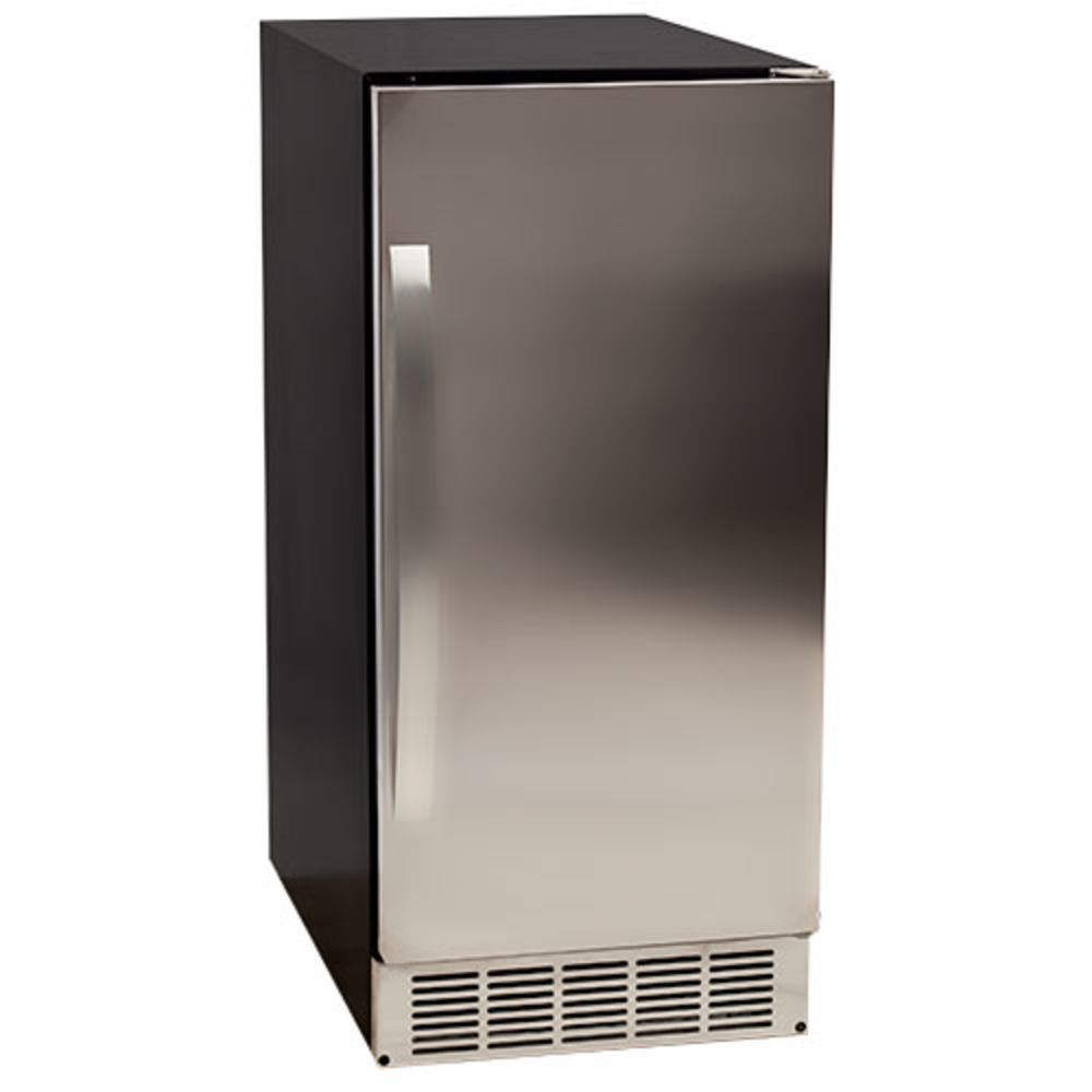 Edgestar outdoor undercounter clear ice maker stainless