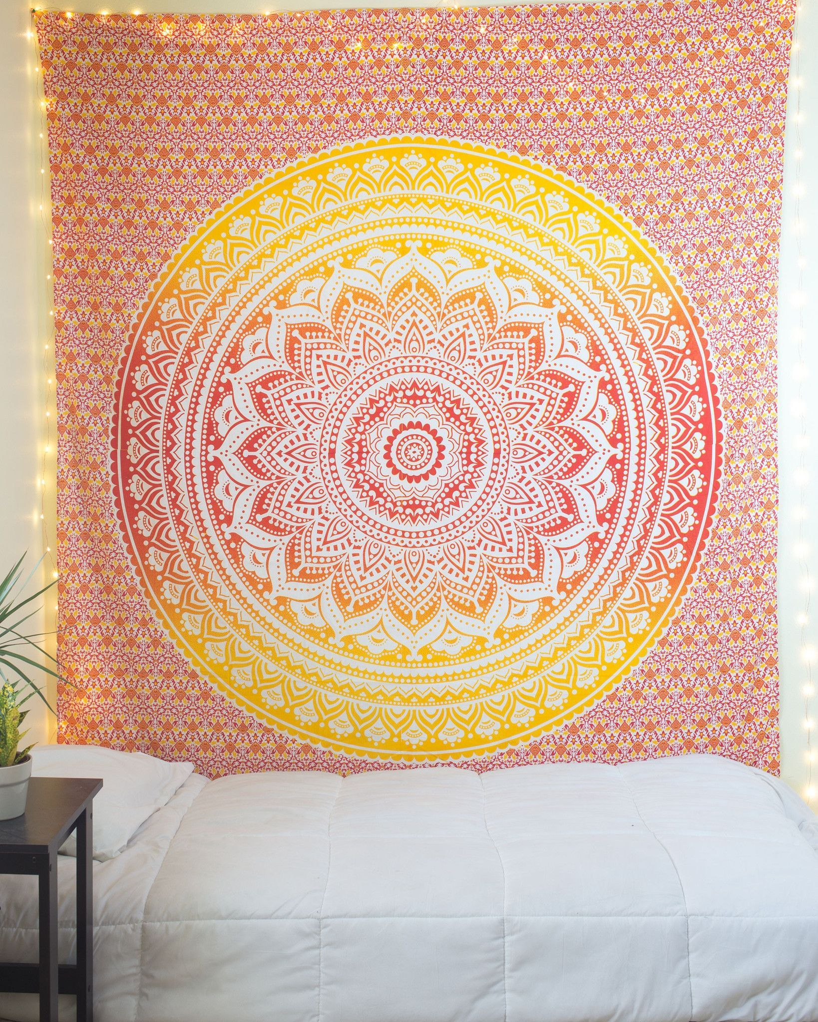 Orange & Yellow Ombre Tapestry from thebohemianshop.com - Save 15 ...