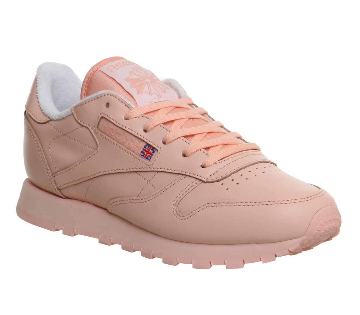 reebok classic leather damen taupe lavender