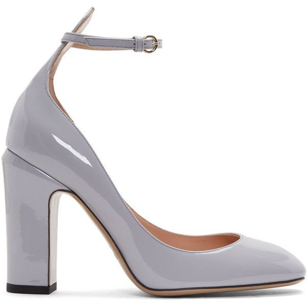Valentino - Grey Tango Mary Jane Heels Women