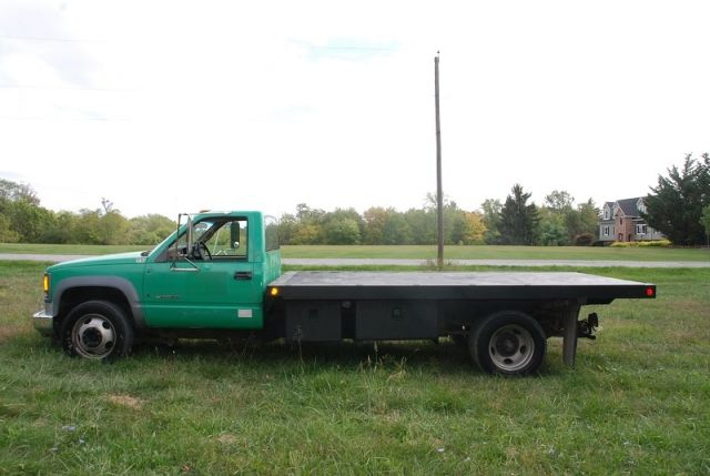 2000 Chevy 3500 HD Flatbed Dump Truck - Low Miles! | Trucks