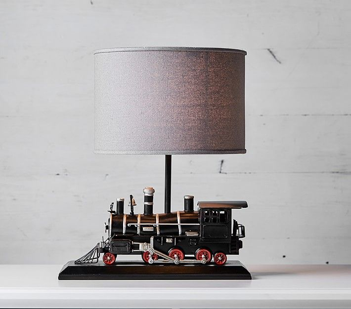 Express Train Lamp In 2020 Painting Lamps Room Lamp