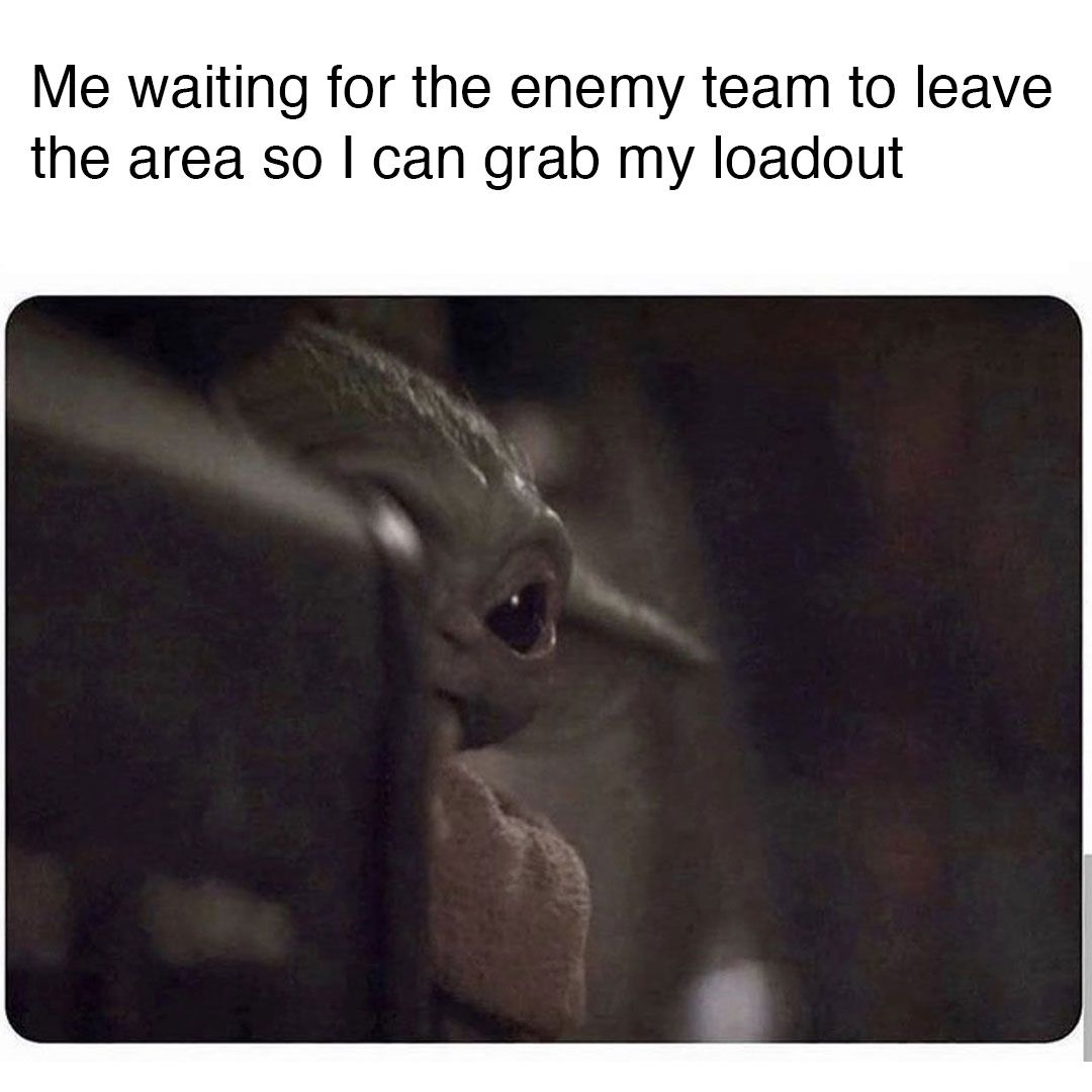 Waiting To Get Your Loadout In Warzone Like Me Too Meme Funny School Memes Cod Memes