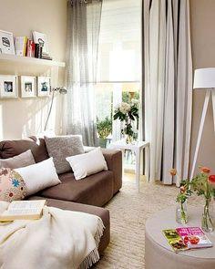 Neutrális színek- bézs otthonok