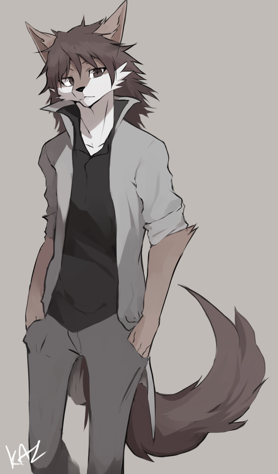 Anime Wolf Hybrid Male Bokunoheroacademiacosplay Anime Manga Anthro Furry Furry Wolf Furry Drawing