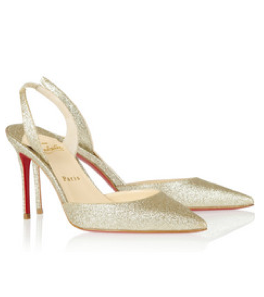 Slingback pumps by Christian Louboutin