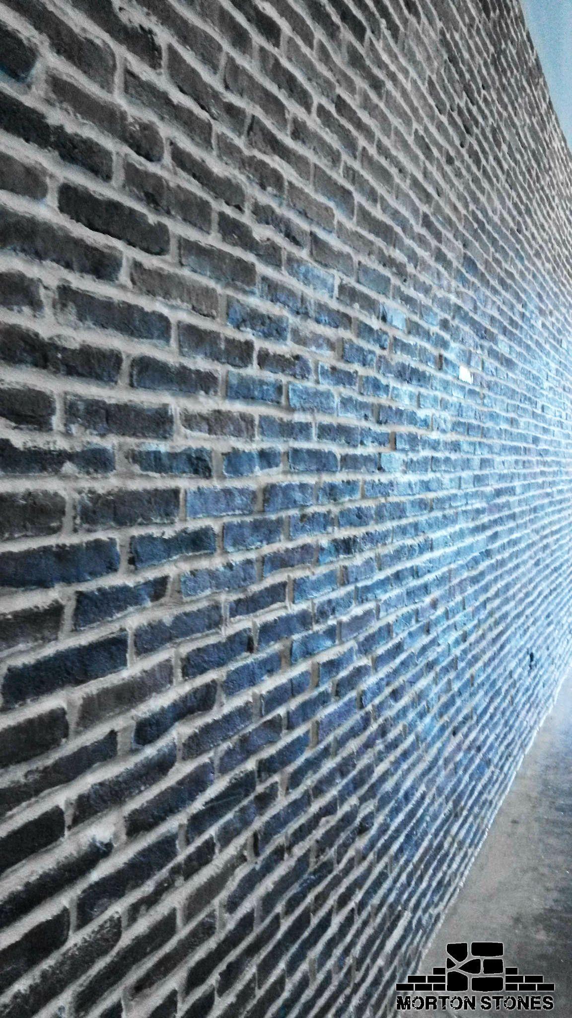 This With White Trim Of Course Brick Veneer Brick Exposed Brick Walls