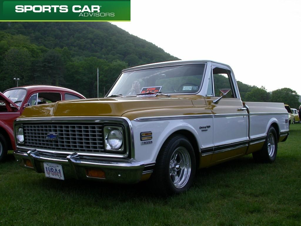 Mustard and White 72 Chevrolet Truck... | Vintage Whips ...