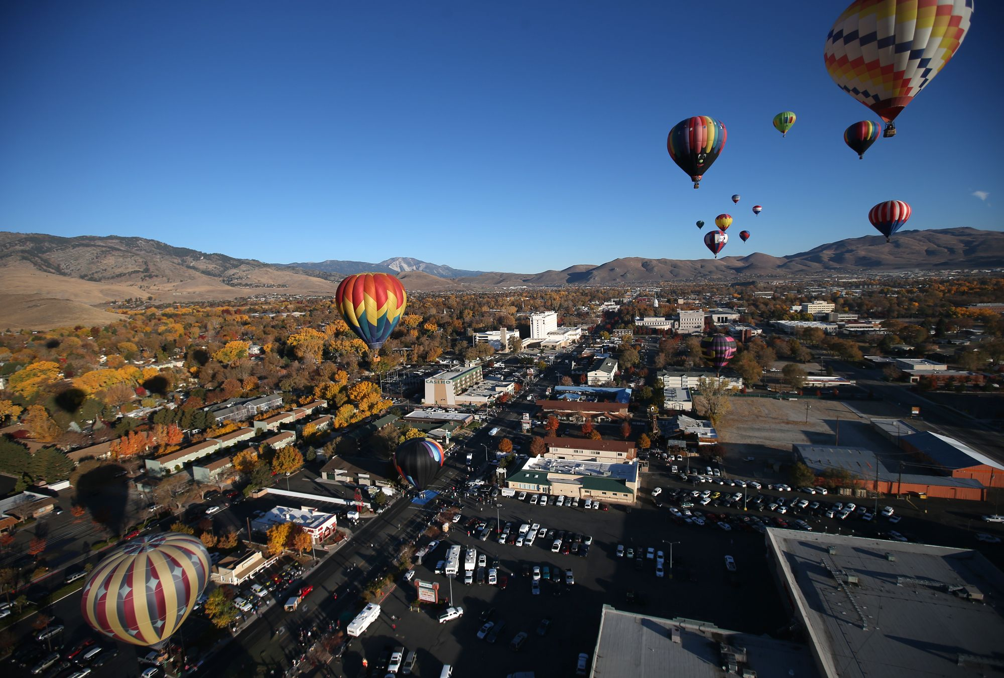 Balloons over carson city carson city state capitals