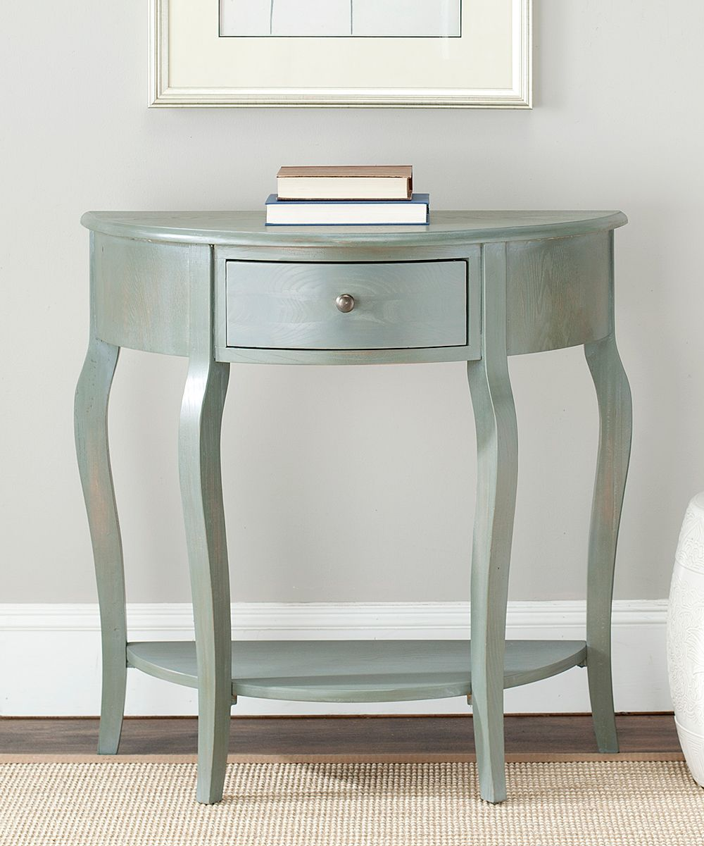 White Washed Malcolm Small Console