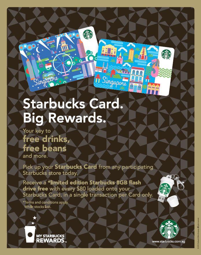New Starbucks Cards In Singapore Karta Eda Idei