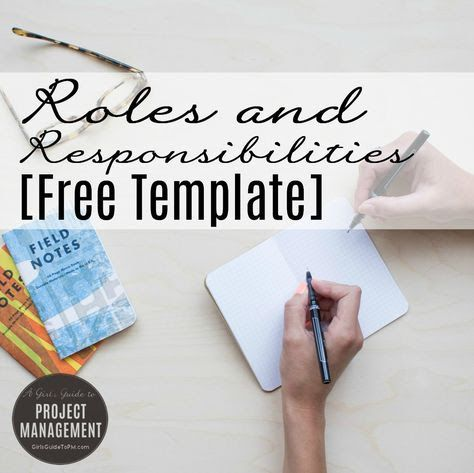 10 Project management Pins you might like - gloriajeanbrown3@gmail - project management roles and responsibilities template
