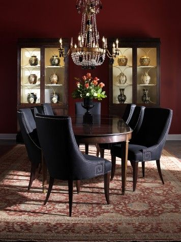 Lillian August Fine Furnishings Templeton Dining Table... And Chairs!