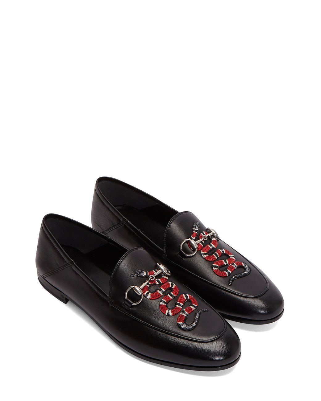 456289f4b Buy Gucci Gray Women's Snake Embroidered Horsebit Loafers In Black. Similar  products also available. SALE now on!