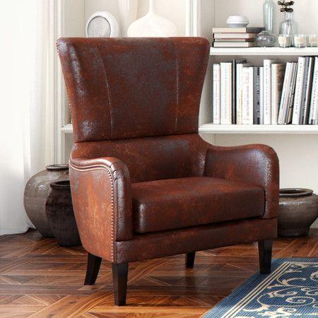 Patrick High Back Club Chair