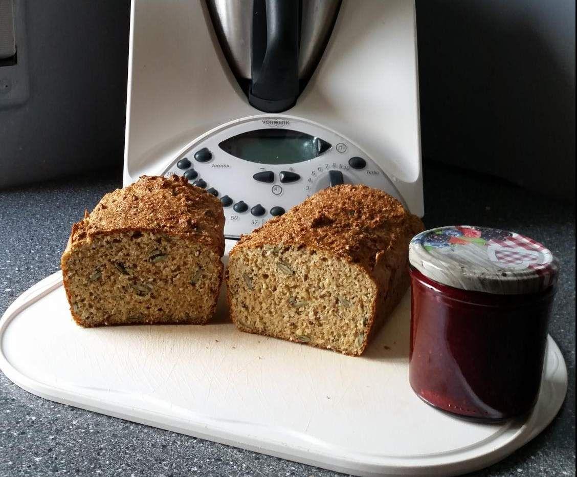Keto Cake Recipe Thermomix: Eiweißbrot...sehr Saftig