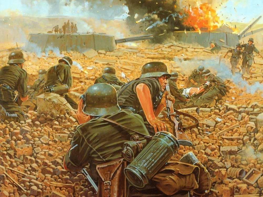 Картины и иллюстрации на тему Второй Мировой - История ...
