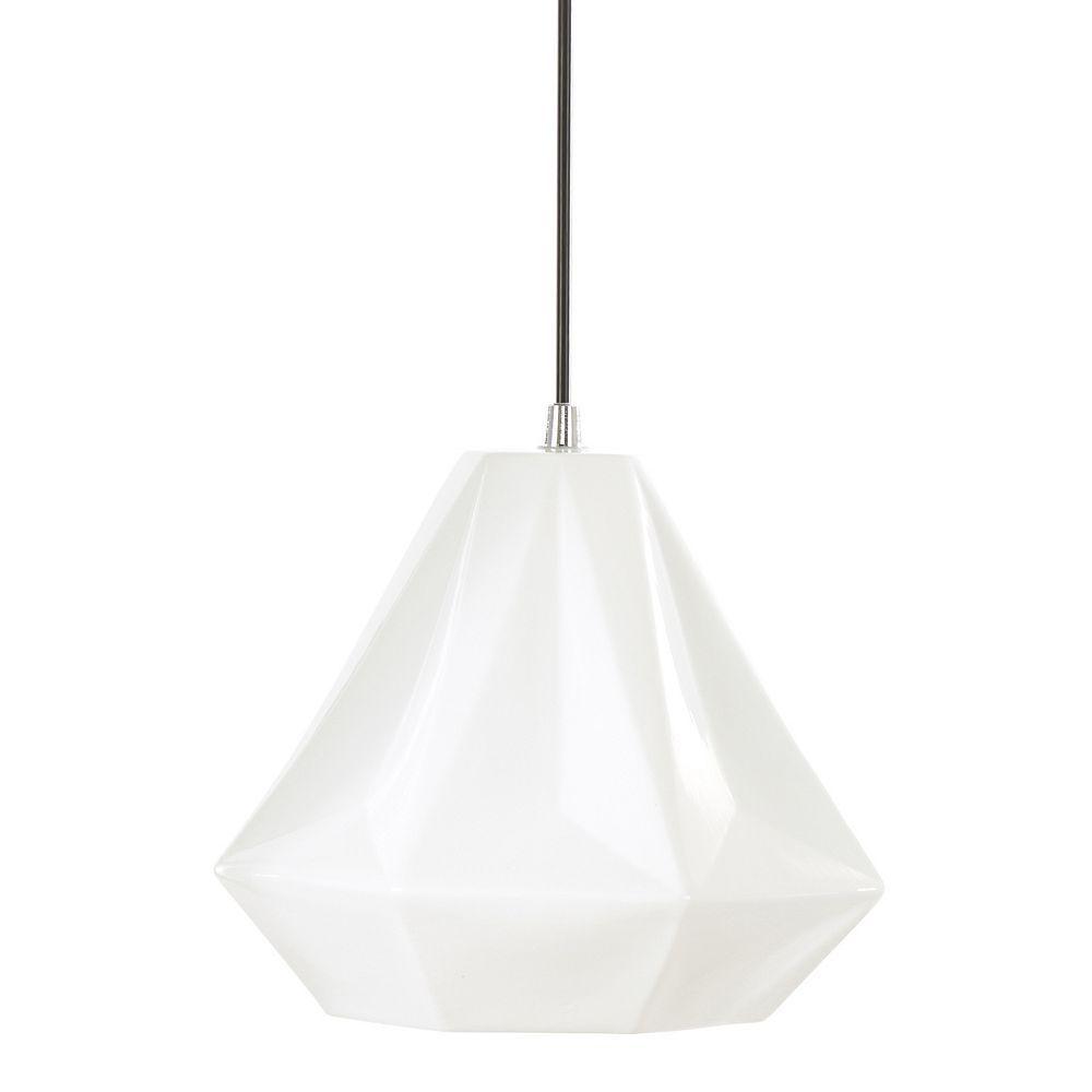 Urban habitat sophie small pendant lamp white pendant lamps