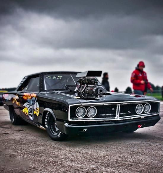 Supercharged 1969 Dodge Charger | Cars | Pinterest ...