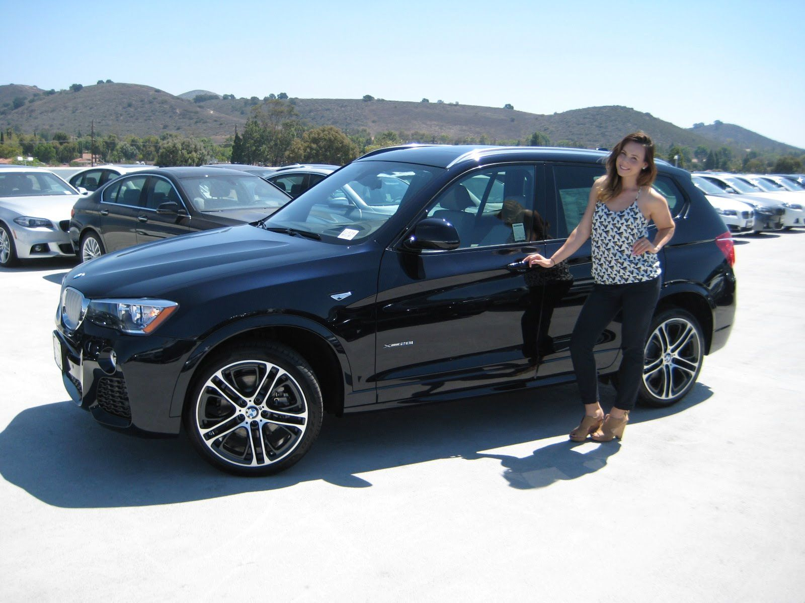 New 2016 Bmw X3 Xdrive 28i Carbon Black Metallic With Oyster
