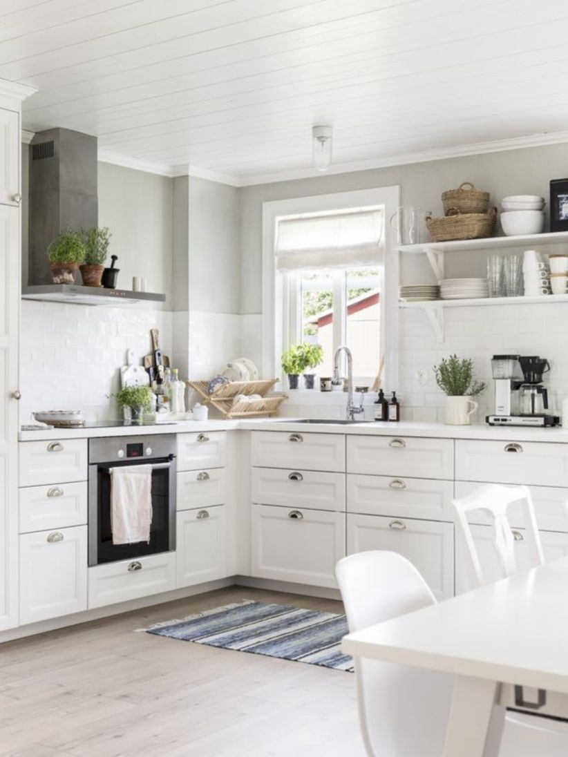 53 Simple Stylish Elegant Kitchen Decorating Ideas For Your New Home
