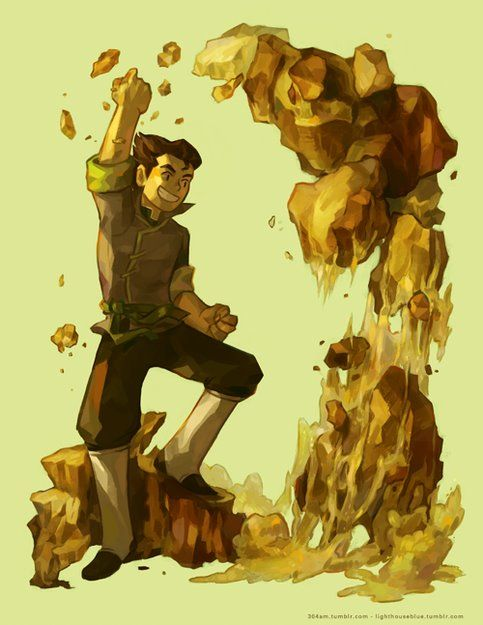 Bolin Print Collab Avatar Aang Avatar Airbender Avatar World These are the 58 best earthbending gifs from avatar: avatar aang avatar airbender avatar
