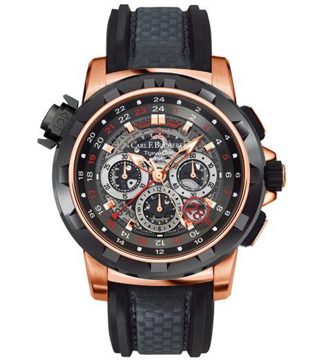Carl F. Bucherer - Patravi Traveltec Fourx, Limited Edition - Mens luxury watch