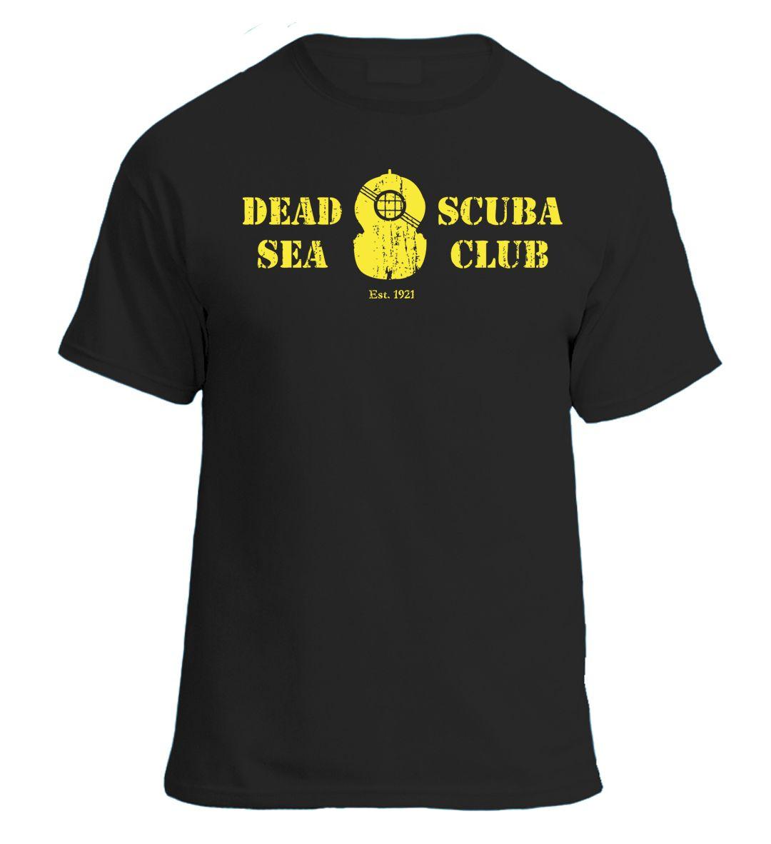 Dead Sea Scuba Club Tee men's