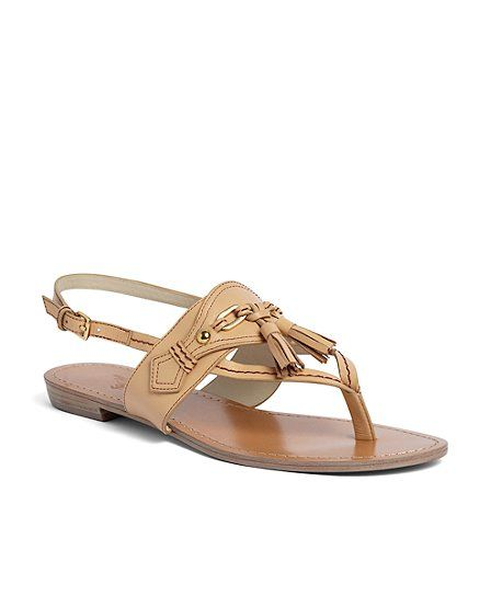 cc1c9763c ... women s shoes and belts online. Spectator Calfskin Sandal - Brooks  Brothers