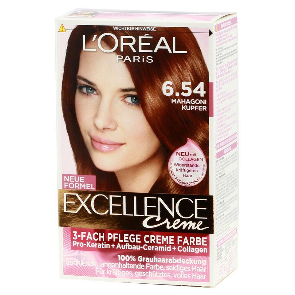 Loreal Paris Excellence 6.54 D Mahogany Copper Blonde - https ...