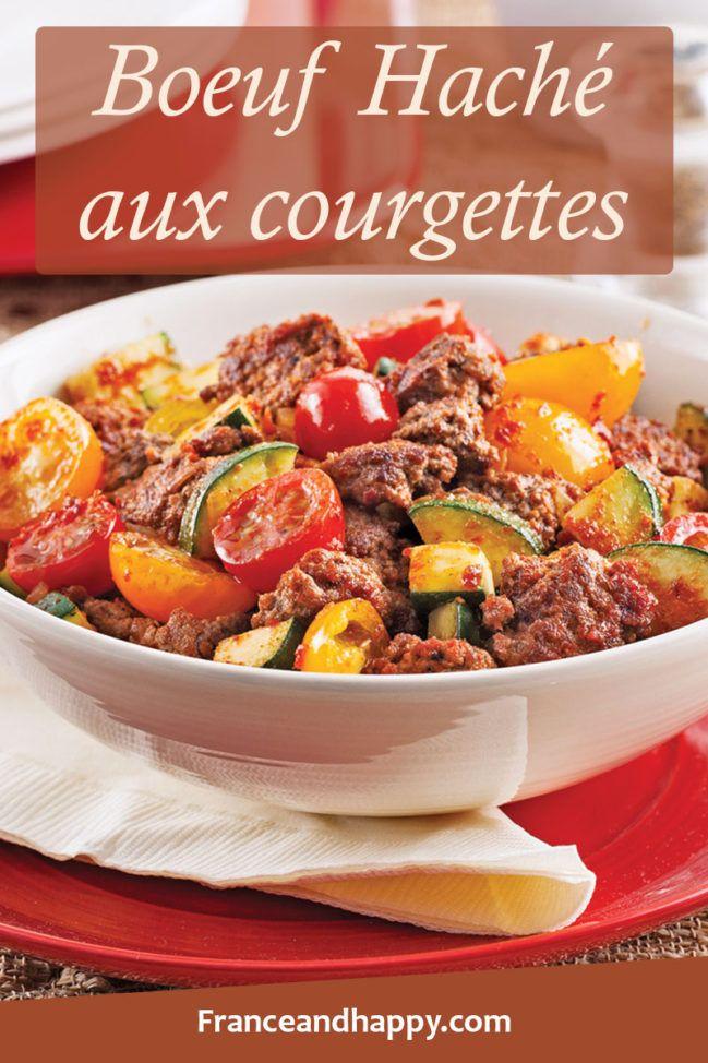 Boeuf haché aux courgettes et sauce barbecue !