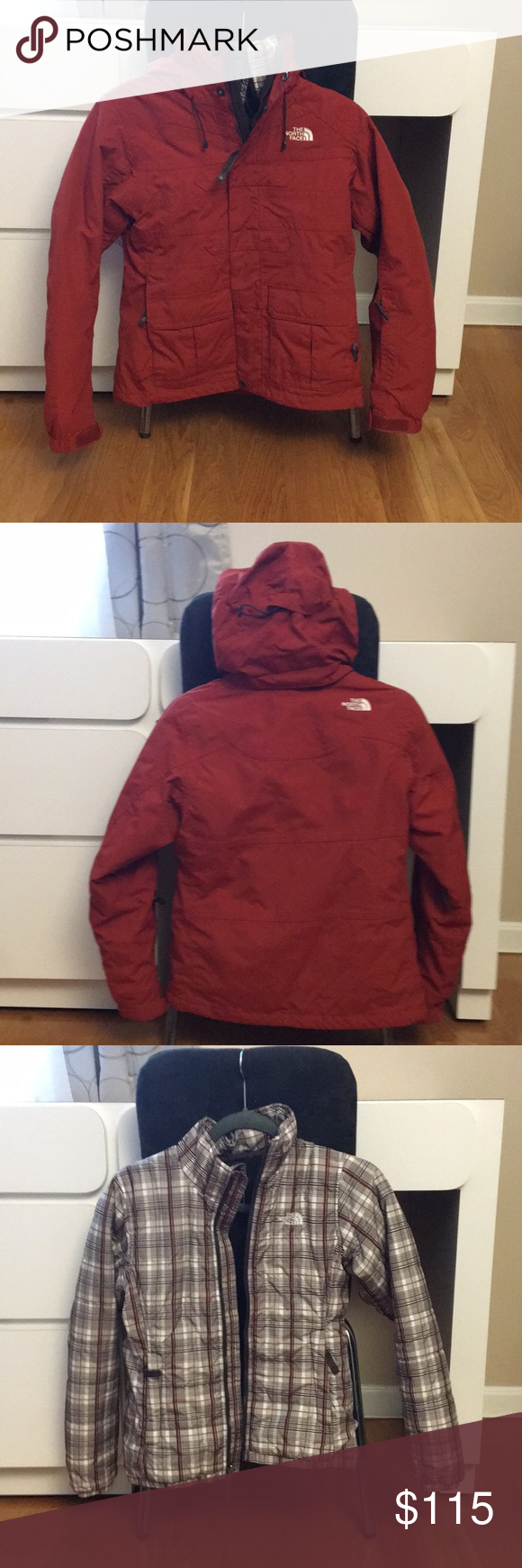 The North Face 2 In 1 Winter Jacket Clothes Design Winter Jackets Fashion [ 1740 x 580 Pixel ]