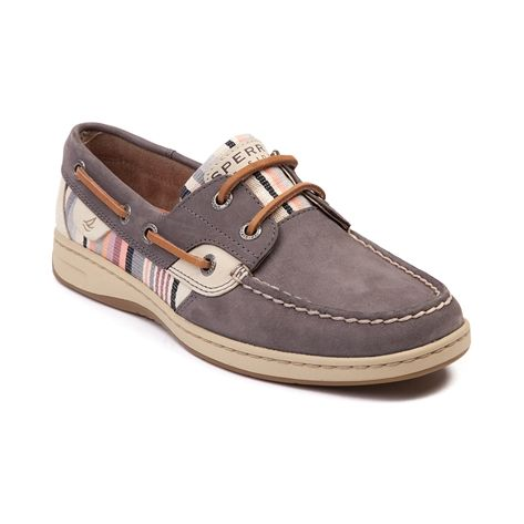 3db35b281606 Womens Sperry Top-Sider Bluefish Boat Shoe in Gray