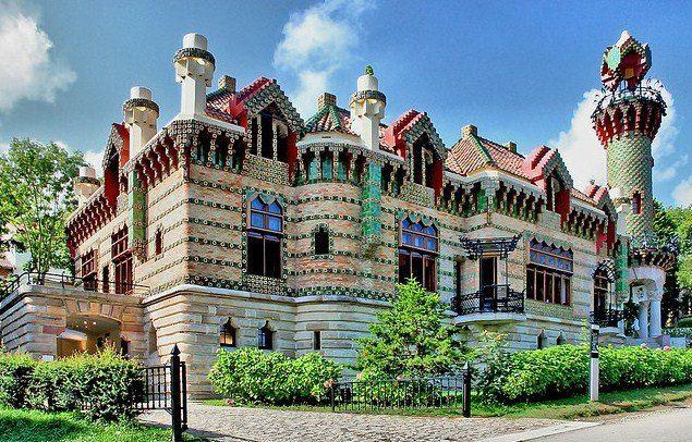 El Capricho de Gaudí, Comillas, Cantabria, España.