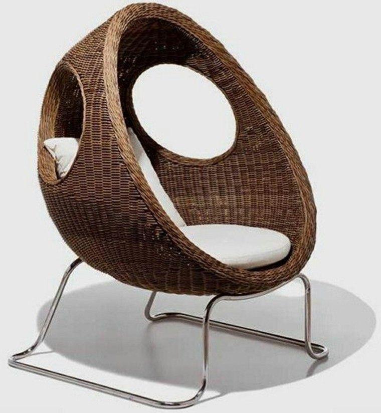 Mimbre y rattan para los muebles de jard n 100 ideas for Muebles de jardin baratos en madera