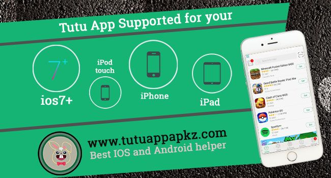 Tutu App iOS Download for iPhone, iPad, iPod Touch Ios