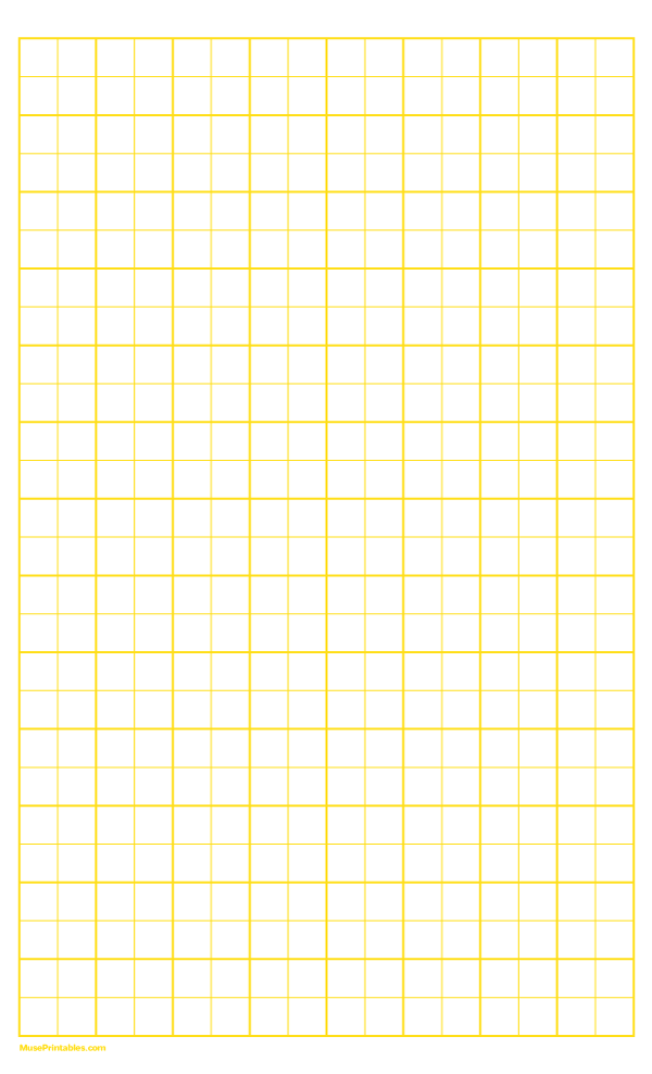Printable 2 Squares Per Inch Yellow Graph Paper For Legal Paper Free Download At Https Museprintables Com Downloa Graph Paper Printable Graph Paper Graphing