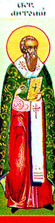 Wealthy Asia-born Saint Anthony (9th cent) lived in Constantinople from his youth. After the death of his mother, he entered a monastery at age 12. He prayed all night and kept strict fast. Against his wish, he became presbyter and hegumen. He was very merciful and loved the poor, to which he gave generously, even more when he became Patriarch of Constantinople. Though infirm, he went through all churches to serve his bretheren like Christ did. He died in old age and is remembered Feb 12.