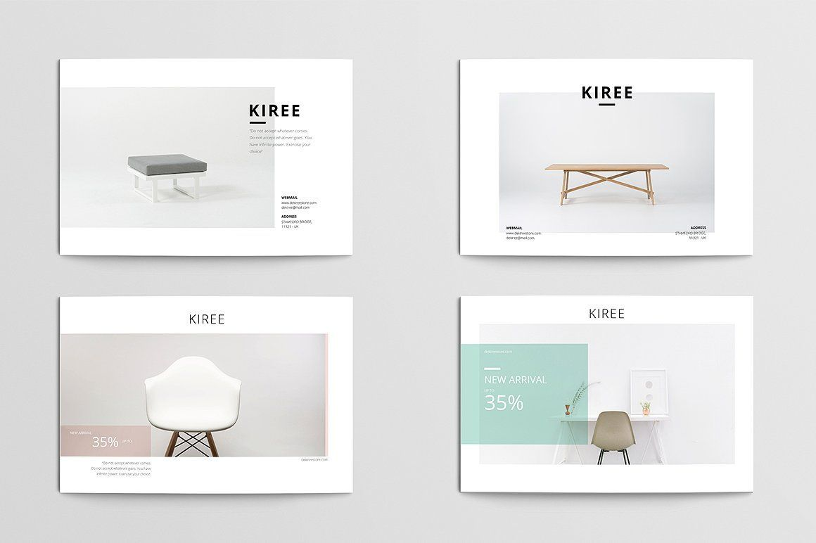 kiree postcard flyer a fully editable postcard template in