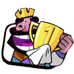 King With Trophy Clash Royale Tournaments Bowser