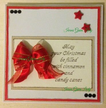 Christmas Card, red color :)